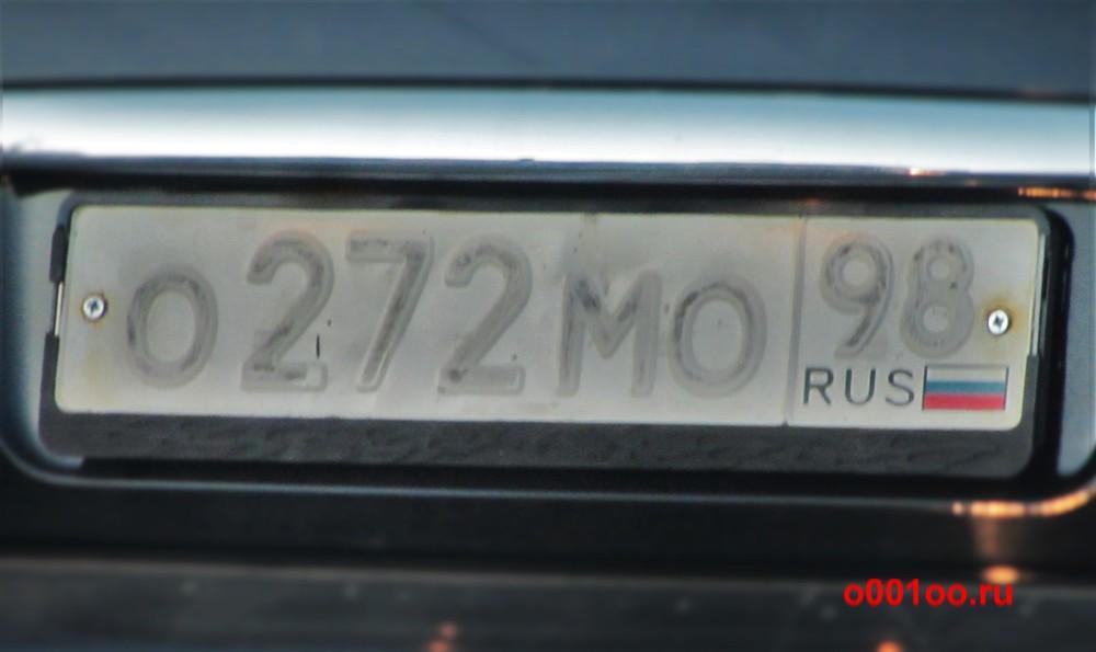 о272мо98